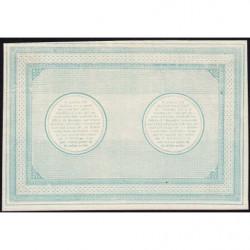 B. d'émission Lille - Jer 59.41C -10 francs - 1870 - Epreuve - Etat : SPL