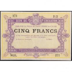 St-Pierre-lez-Calais - Jer 62.26B - 5 francs - 08/10/1870 - Etat : SPL