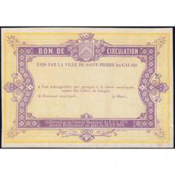 St-Pierre-lez-Calais - Jer 62.26B - 5 francs - 08/10/1870 - Epreuve - Etat : SPL