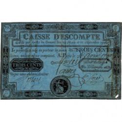 Caisse d'Escompte - Laf 104 - 300 livres - 4 février 1790 - Etat : TTB