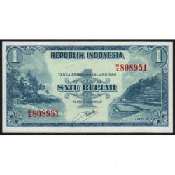 Indonésie - Pick 40 - 1 rupiah - 1953 - Etat : NEUF