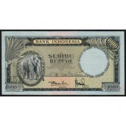 Indonésie - Pick 53 - 1'000 rupiah - 1957 - Etat : SPL+