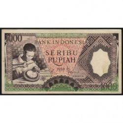 Indonésie - Pick 62 - 1'000 rupiah - 1958 - Etat : SUP