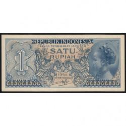 Indonésie - Pick 72 - 1 rupiah - 1954 - Etat : NEUF