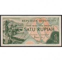 Indonésie - Pick 76 - 1 rupiah - 1960 - Etat : NEUF