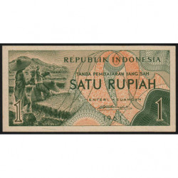 Indonésie - Pick 78a - 1 rupiah - 1961 - Etat : NEUF