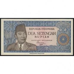 Indonésie - Pick 81a - 2 1/2 rupiah - 1964 - Etat : NEUF