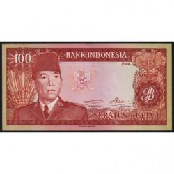 Indonésie - Pick 86a - 100 rupiah - 1960 - Etat : NEUF