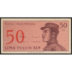 Indonésie - Pick 94a - 50 sen - 1964 - Etat : NEUF