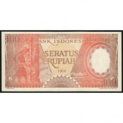 Indonésie - Pick 97b - 100 rupiah - 1964 - Etat : NEUF