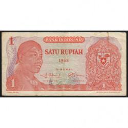 Indonésie - Pick 102a - 1 rupiah - 1968 - Etat : TB