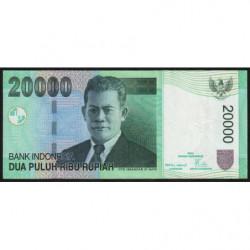 Indonésie - Pick 144e - 20'000 rupiah - 2008 - Etat : TTB+