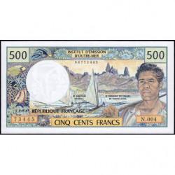 Territoire Français du Pacifique - Pick 1a - 500 francs - Série N.004 - 1992 - Etat : NEUF