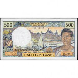 Territoire Français du Pacifique - Pick 1a - 500 francs - Série R.004 - 1992 - Etat : TTB