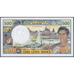 Territoire Français du Pacifique - Pick 1f - 500 francs - Série P.014 - 2008 - Etat : NEUF
