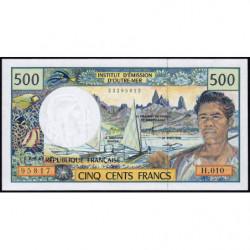 Territoire Français du Pacifique - Pick 1d - 500 francs - Série H.010 - 2001 - Etat : NEUF