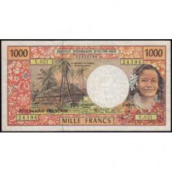 Territoire Français du Pacifique - Pick 2e - 1'000 francs - Série O.021 - 2000 - Etat : TB