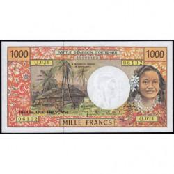 Territoire Français du Pacifique - Pick 2g - 1'000 francs - Série Q.024 - 2002 - Etat : pr.NEUF