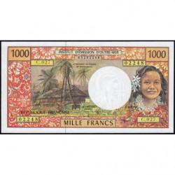 Territoire Français du Pacifique - Pick 2g - 1'000 francs - Série C.027 - 2002 - Etat : SPL