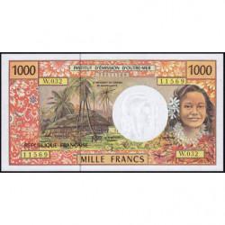 Territoire Français du Pacifique - Pick 2h - 1'000 francs - Série W.032 - 2004 - Etat : NEUF