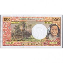 Territoire Français du Pacifique - Pick 2h - 1'000 francs - Série Y.033 - 2004 - Etat : SUP+