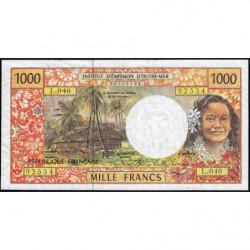 Territoire Français du Pacifique - Pick 2j - 1'000 francs - Série L.040 - 2008 - Etat : B+