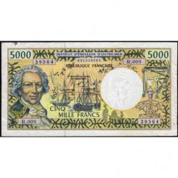 Territoire Français du Pacifique - Pick 3f - 5'000 francs - Série R.009 - 2001 - Etat : TB+