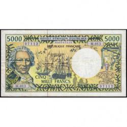 Territoire Français du Pacifique - Pick 3h - 5'000 francs - Série H.013 - 2008 - Etat : TB