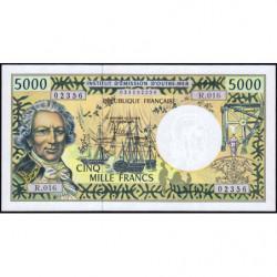 Territoire Français du Pacifique - Pick 3i - 5'000 francs - Série R.016 - 2010 - Etat : NEUF