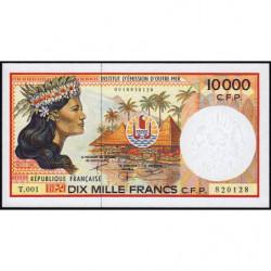 Territoire Français du Pacifique - Pick 4d - 10'000 francs - Série T.001 - 2002 - Etat : NEUF