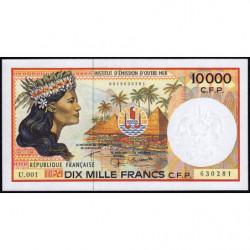 Territoire Français du Pacifique - Pick 4e - 10'000 francs - Série U.001 - 2005 - Etat : NEUF