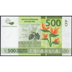 Territoire Français du Pacifique - Pick 5a - 500 francs - 2014 - Etat : NEUF