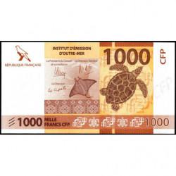 Territoire Français du Pacifique - Pick 6a - 1'000 francs - 2014 - Etat : NEUF