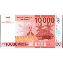Territoire Français du Pacifique - Pick 8a - 10'000 francs - 2014 - Etat : NEUF