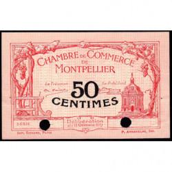 Montpellier - Pirot 85-17 - 50 centimes - Spécimen - 11/10/1917 - Etat : SUP