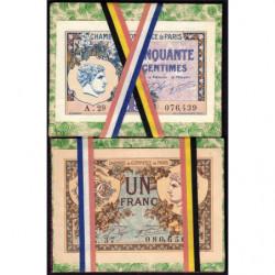 Paris - Pirot 97-31 / 97-36 - Porte-billet France Allemagne - SPL
