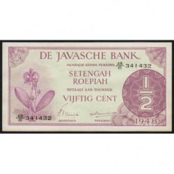 Indes Néerlandaises - Pick 97 - 1/2 gulden - 1948 - Etat : NEUF