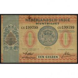 Indes Néerlandaises - Pick 108a - 1 gulden - 15/06/1940 - Etat : TB+