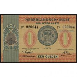 Indes Néerlandaises - Pick 108a - 1 gulden - 15/06/1940 - Etat : NEUF