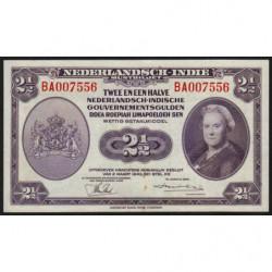 Indes Néerlandaises - Pick 112a1 - 2 1/2 gulden - 02/03/1943 - Etat : SPL