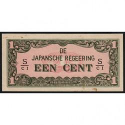Indes Néerlandaises - Pick 119b - 1 cent - 1942 - Etat : SPL