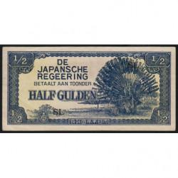 Indes Néerlandaises - Pick 122b - 1/2 gulden - 1942 - Etat : SUP