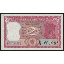 Inde - Pick 53c - 2 rupees - 1976 - Lettre A - Etat : SUP+