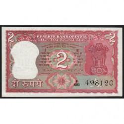 Inde - Pick 53d - 2 rupees - 1978 - Lettre A - Etat : SPL