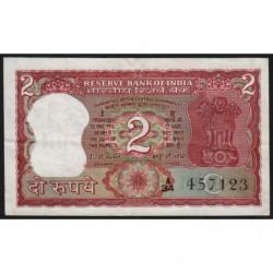 Inde - Pick 53f - 2 rupees - 1982 - Lettre C - Etat : TTB