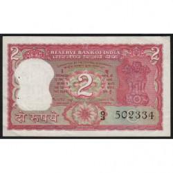 Inde - Pick 53g - 2 rupees - 1983 - Lettre C - Etat : TTB+