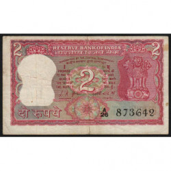 Inde - Pick 67a - 2 rupees - 1969 - Commémoratif - Etat : TB-