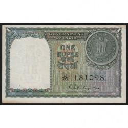 Inde - Pick 72 - 1 rupee - 1951 - Etat : TTB+