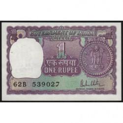 Inde - Pick 77z - 1 rupee - 1980 - Lettre B - Etat : SPL