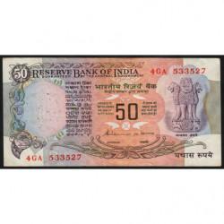 Inde - Pick 84g - 50 rupees - 1992 - Lettre B - Etat : TTB-